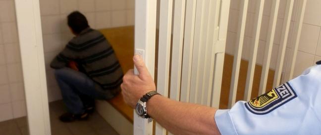 Festnahme bei polizeilicher Kontrolle