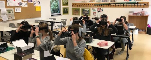 Virtueller Schüleraustausch