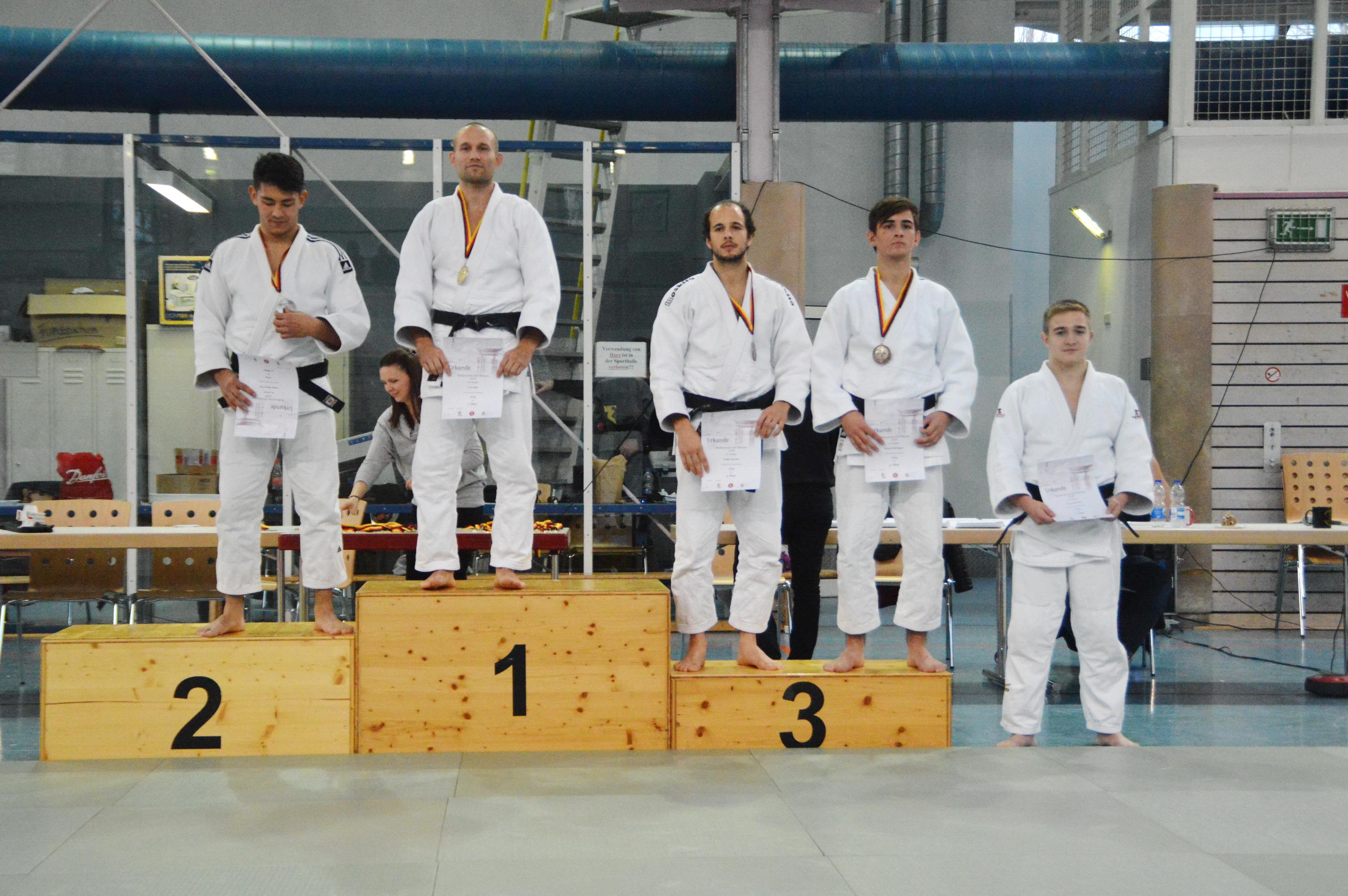 TuS-Judoka Manuel Mühlegger holt Bronze bei der Süddeutschen Meisterschaft