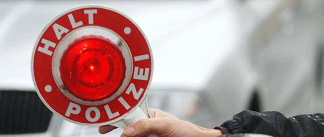 Drei Schleuser bei Grenzkontrollen gefasst