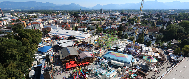 """Herbstfest Rosenheim 2016: """"Ein Fest für alle Sinne!"""""""