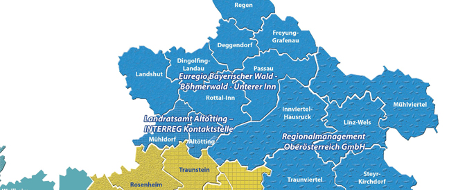 Altötting und Mühldorf: EU fördert grenzüberschreitende Kleinprojekte