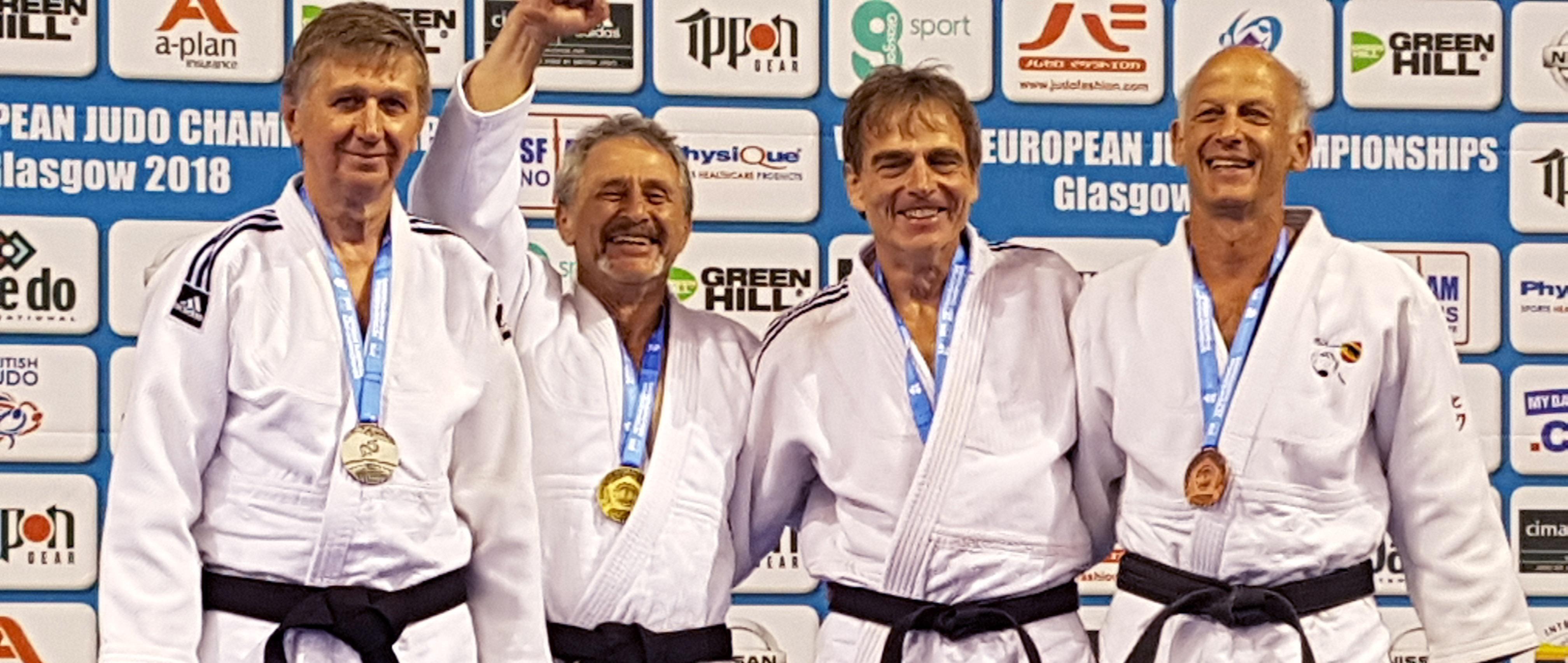 Judo-Europameisterschaft 2018 der Ü30-Veteranen in Glasgow