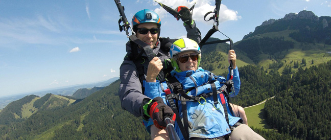 Urlaubsglück zum Durchstarten: 77-Jährige geht in die Luft!