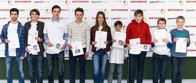 Rund 100 Teilnehmer bei Jugend forscht in Rosenheim
