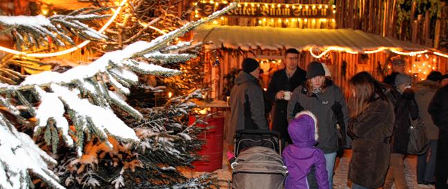 Weihnachtsgarten in Neumarkt-St. Veit
