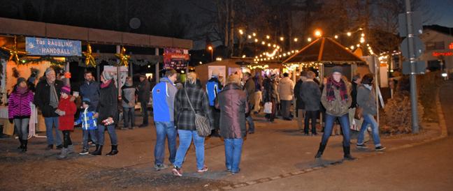 Weihnachtsmarkt in Raubling