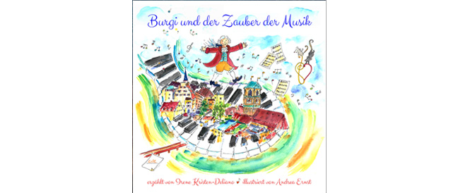 Buch-Tipp: Burgi und der Zauber der Musik