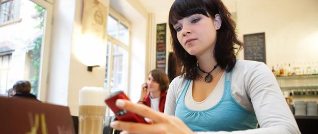 Digitale Medien lösen Stress bei jungen Menschen aus
