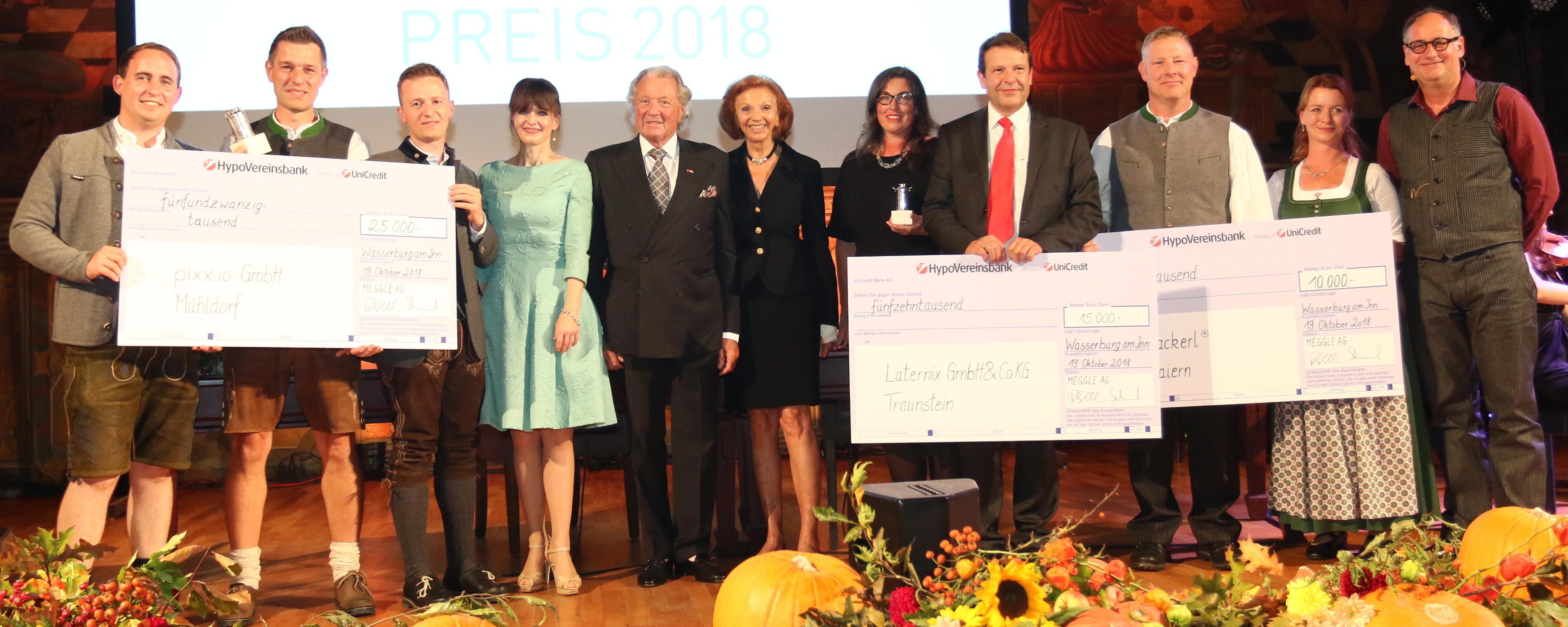 Ein MEGGLE-Gründerpreis geht nach Mühldorf!