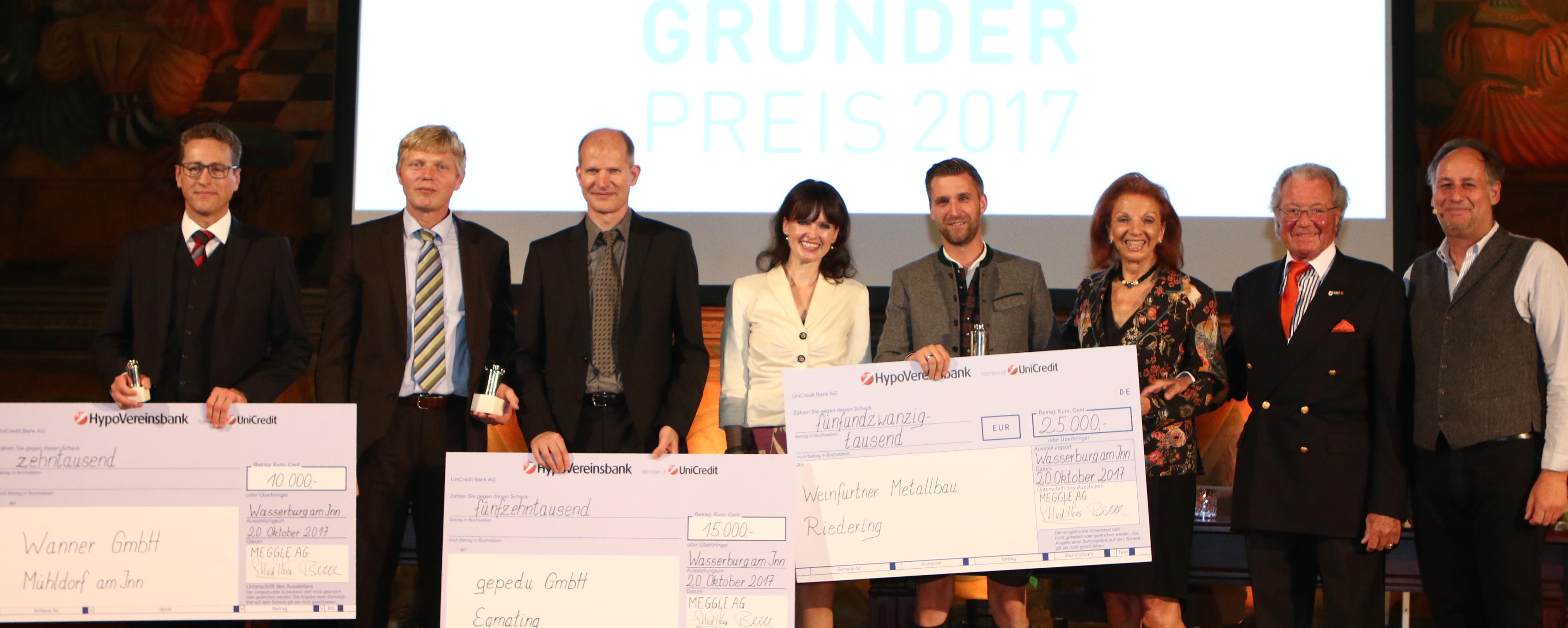 Metallbauer gewinnt MEGGLE-Gründerpreis!
