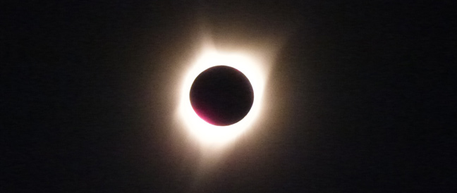 Leser-Reportage: Sonnenfinsternis in den USA