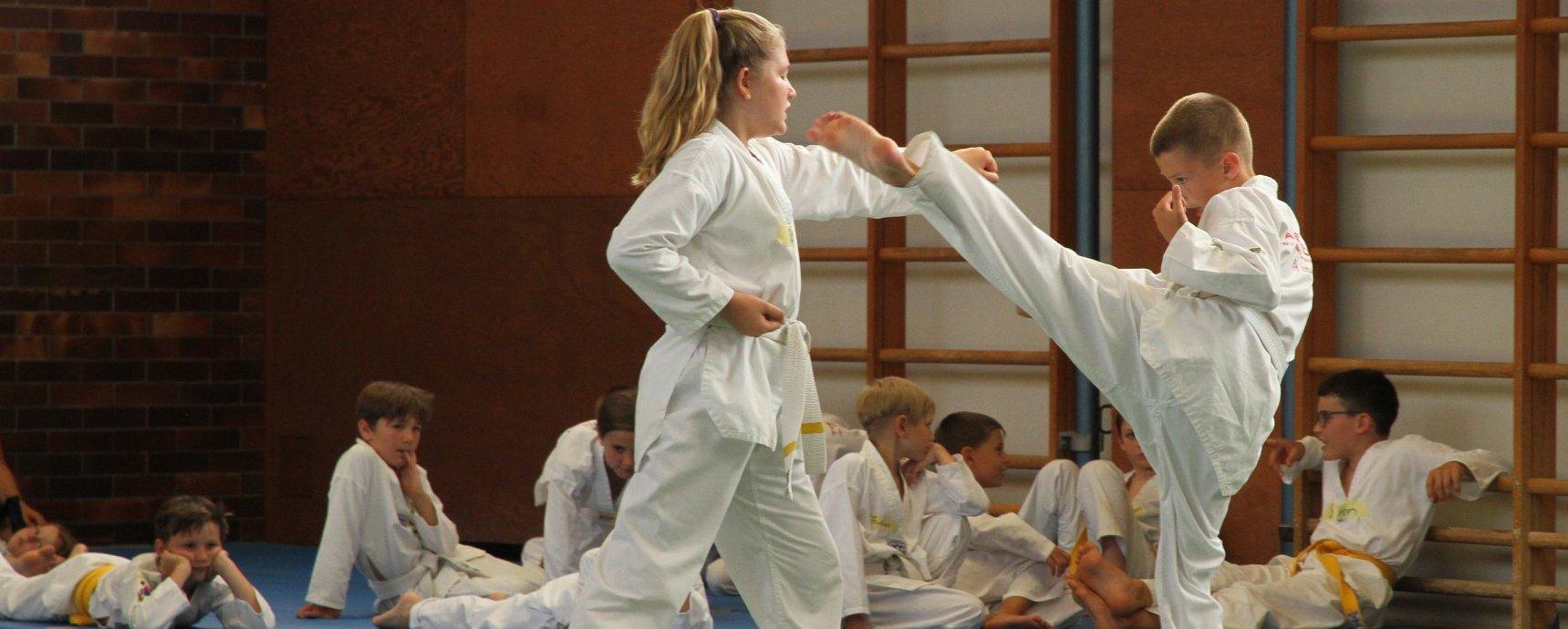 Taekwondo bietet spannendes Ferienprogramm