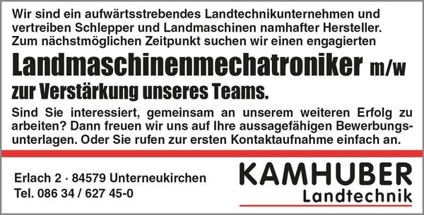 Landmaschinenmechatroniker (m/w/d) ab sofort!