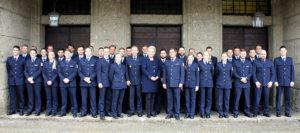 Neue Bundespolizisten in Rosenheim