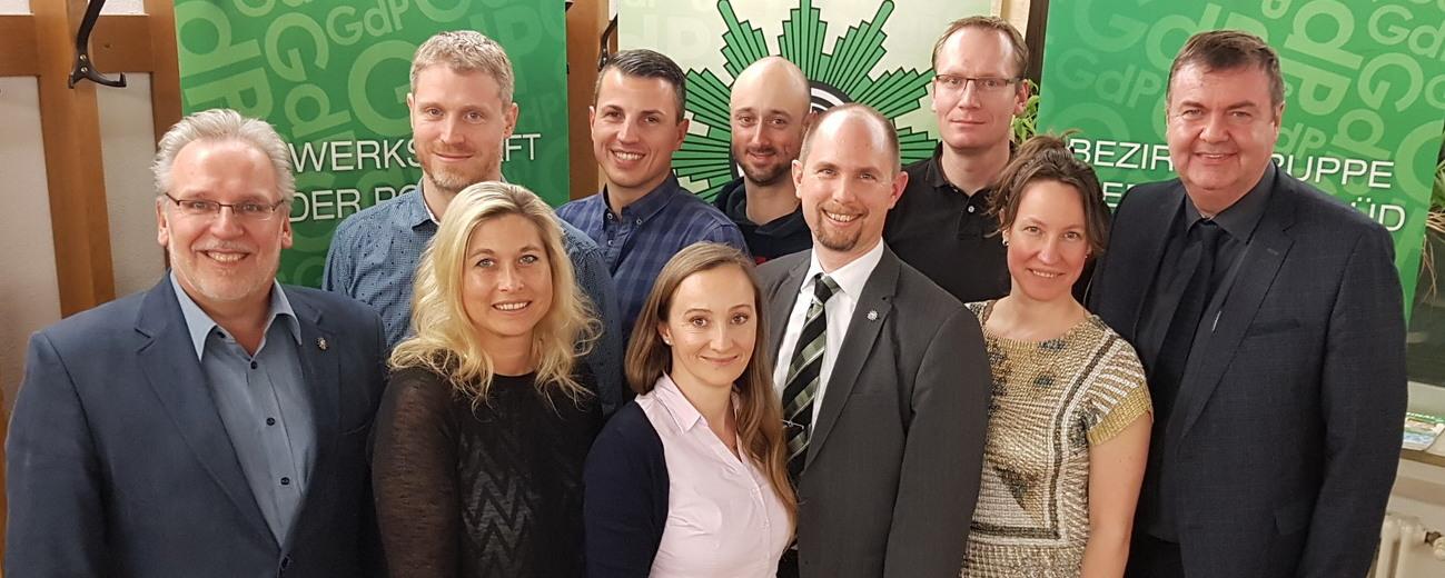 Gewerkschaft der Polizei wählt neue Vorstandschaft der Kreisgruppe (KG) Rosenheim