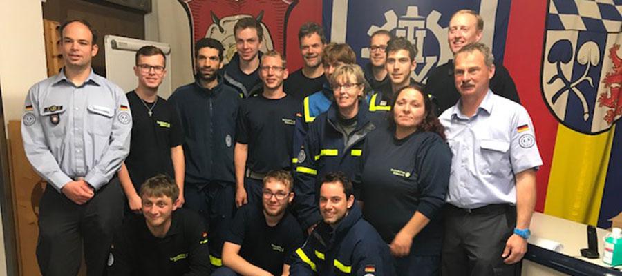 12 neue Helfer für das THW Rosenheim