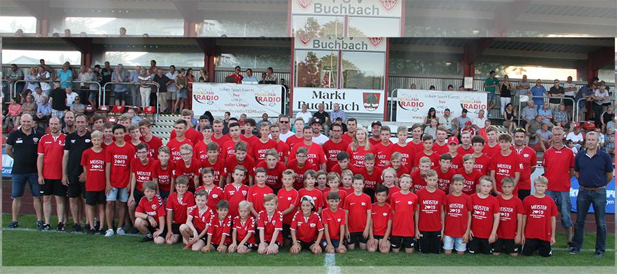 Jugendmeisterschaften: Meisterehrung beim TSV Buchbach