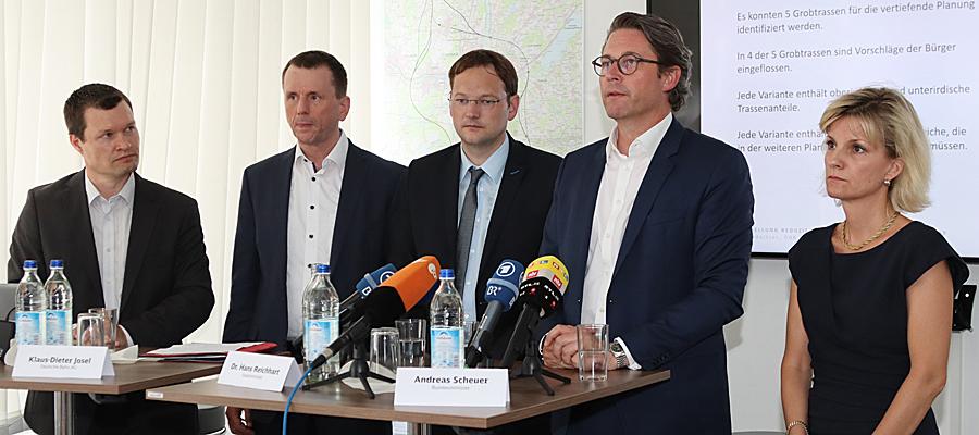 """""""Zwischenschritt"""" im Verkehrsgroßprojekt Brenner-Nordzulauf: Zwiespältiges Echo auf Trassen-Pläne"""