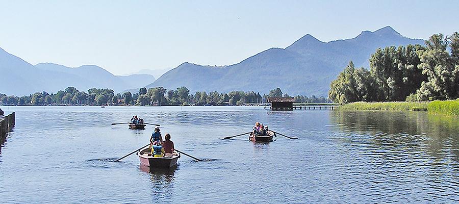 Führung: Mit dem Ruderboot ans Ende des Sees