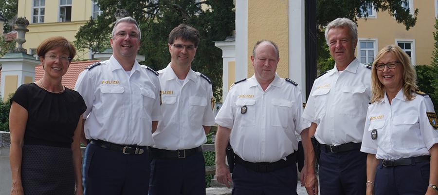 Amtswechsel bei der Polizeistation Haag i. Obb.