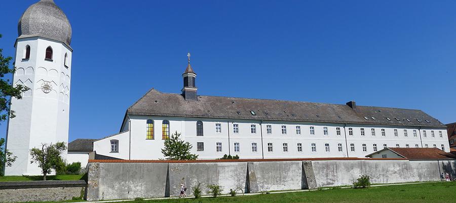 Verschiedene Bauvorhaben am Kloster Frauenchiemsee