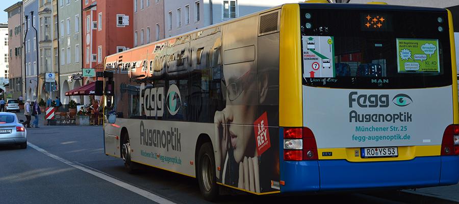 Linie 1 und 12 wieder ab Stadtmitte Rosenheim