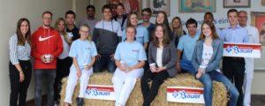 Startschuss ins Berufsleben: Privatmolkerei Bauer begrüßt neue Azubis und Studierende zum ersten Arbeitstag
