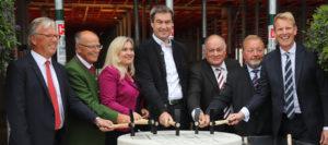 Feierliche Grundsteinlegung für größtes bayerisches Krankenhausneubauprojekt