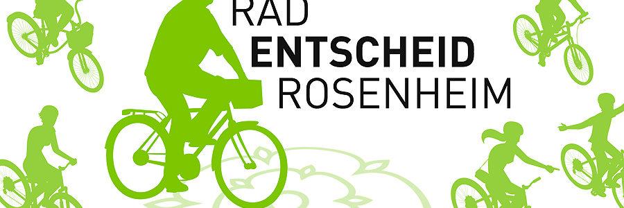 "Logo ""Rosenheimer Radentscheid""."