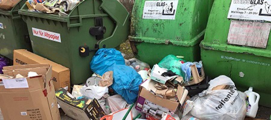 Tonnenweise wilde Müllablagerungen im Landkreis Mühldorf am Inn