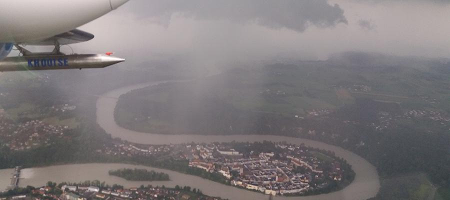 Heftigste Gewittertage erlebte die Region am 1. und 27. Juli