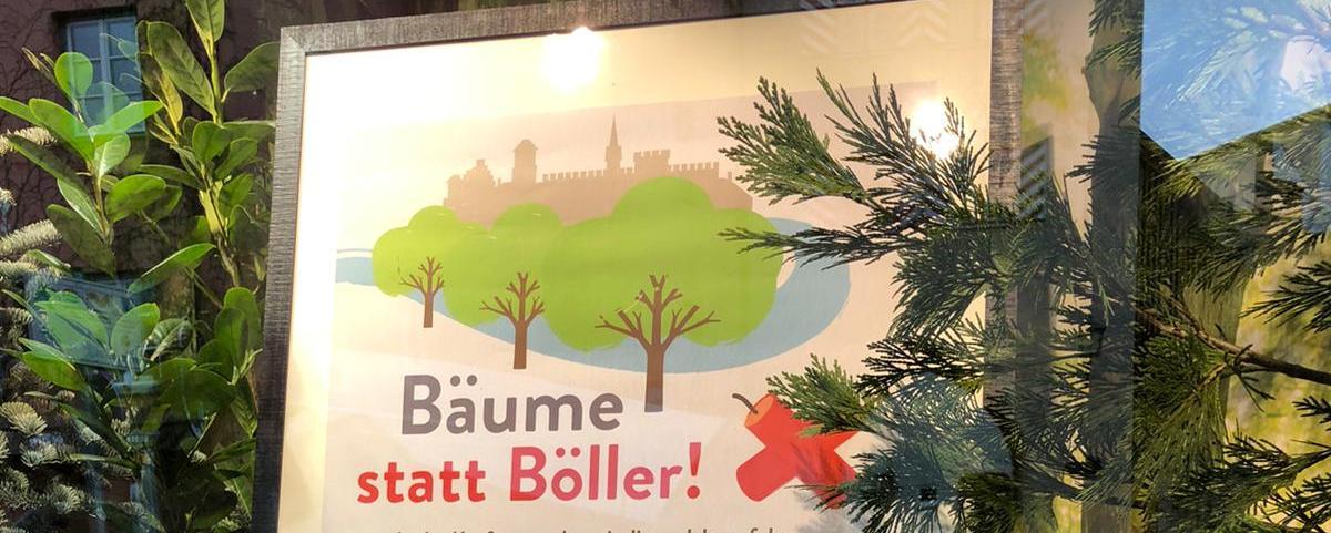 Bäume statt Böller in Wasserburg
