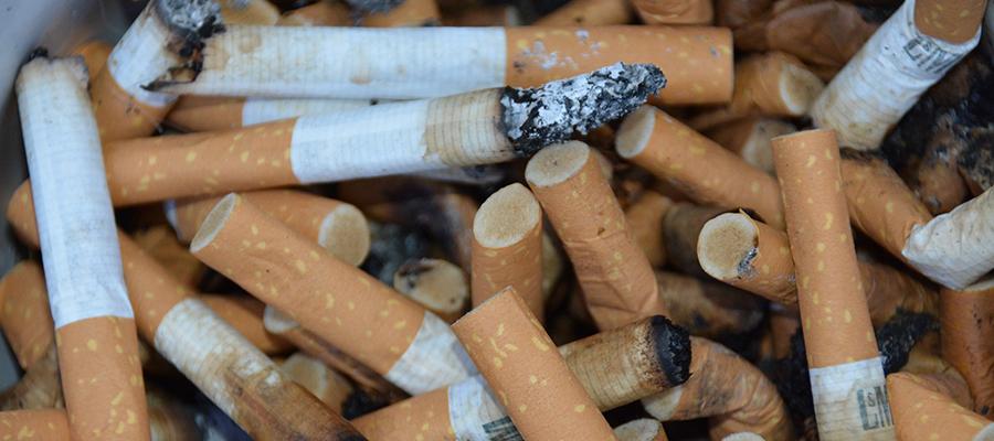 Weggeworfene Zigarettenkippen und Kaugummis können teuer werden