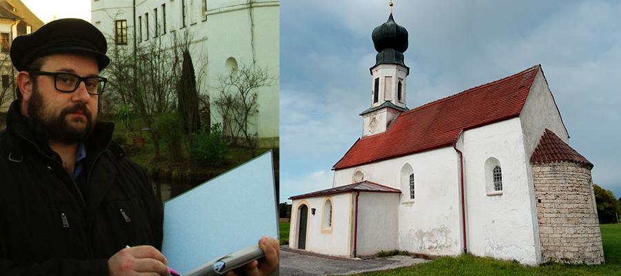 Notsicherungsmaßnahmen an der Filialkirche St. Aegidius in Kolbing