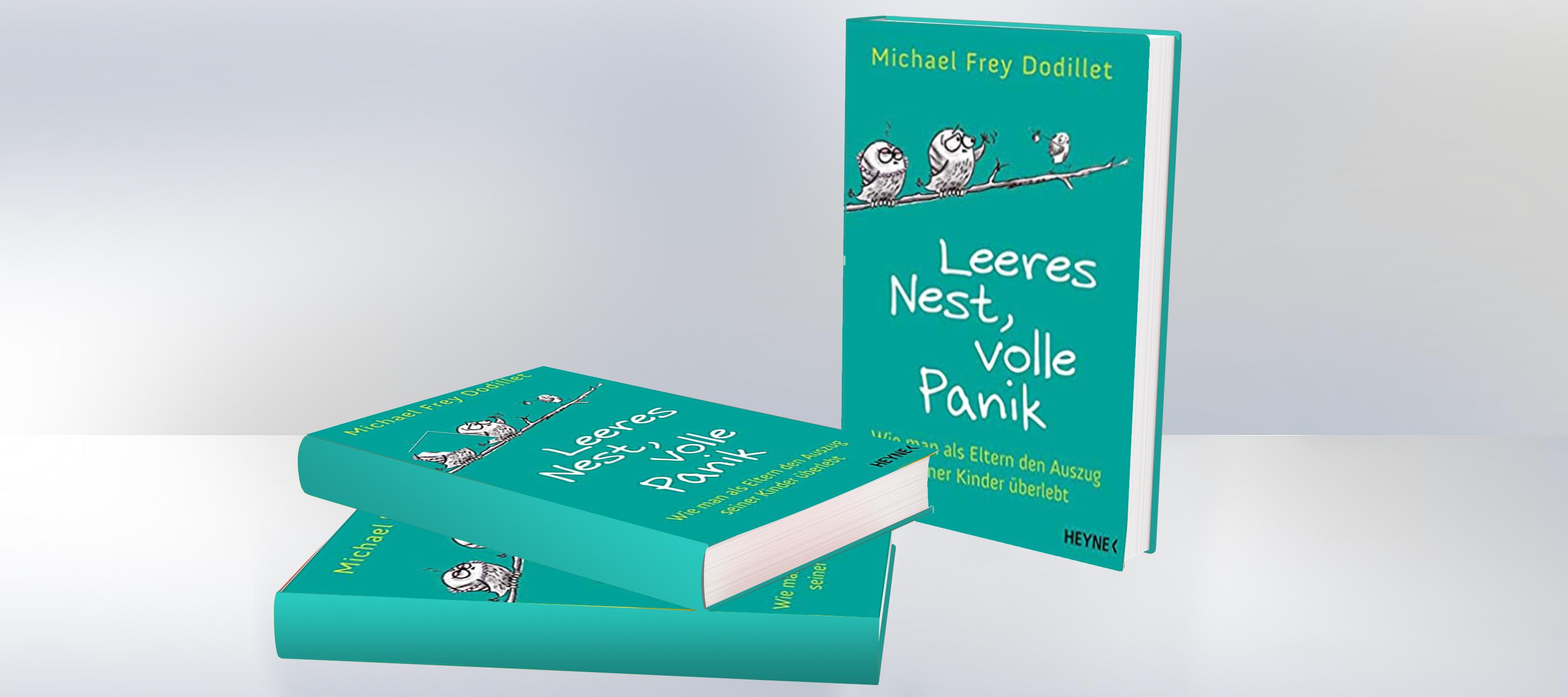 Buch-Tipp: Leeres Nest, Volle Panik
