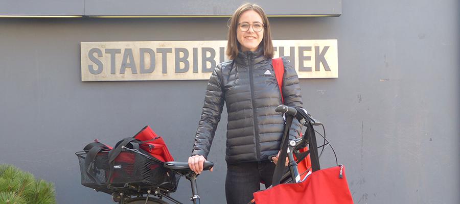 Stadtbibliothek Rosenheim liefert Medien nach Hause