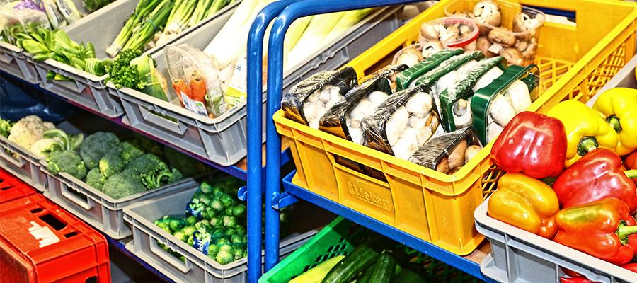 Das Tafel-Prinzip lautet: Je mehr Lebensmittel von den Geschäften gespendet werden, desto mehr können die Tafeln an Bedürftige weitergeben – wenn wenig Ware da ist, entsprechend wenig. Foto: Olaf Konstantin Krueger
