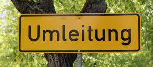 Verkehrsbehinderungen und Umleitung: St 2095 Prutting – Bad Endorf
