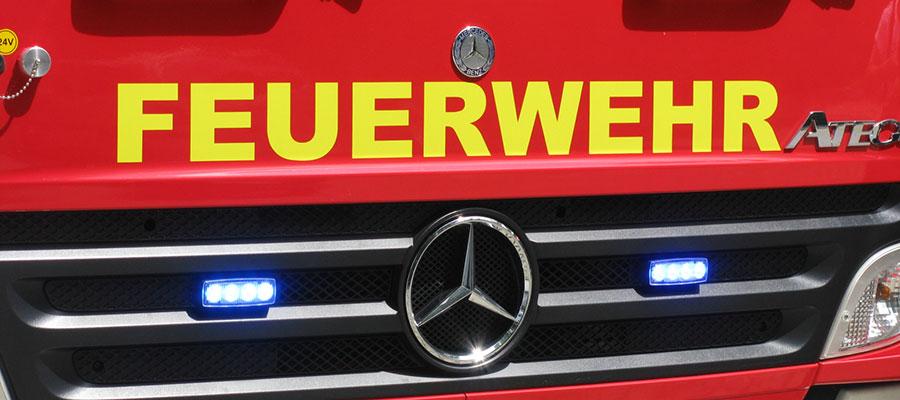 Lebensmittelgeschäft am Stadtplatz in Waldkraiburg wird Raub der Flammen
