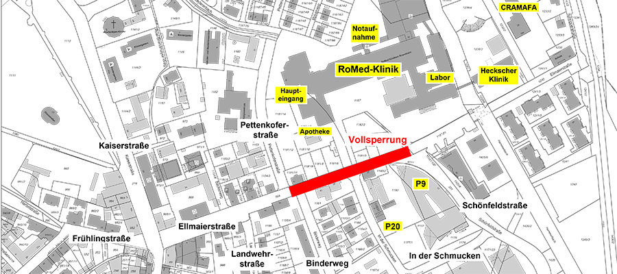 Großprojekt Ellmaierstraße und Kaiserstraße: Baustellenbeginn nach den Osterfeiertagen