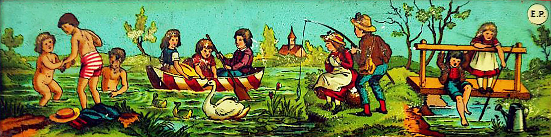"""Mit der """"Zauberlaterne"""" zum See"""