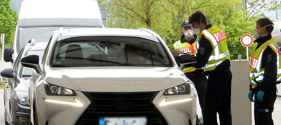 Weiterhin Grenzkontrollen an deutsch-österreichischer Grenze