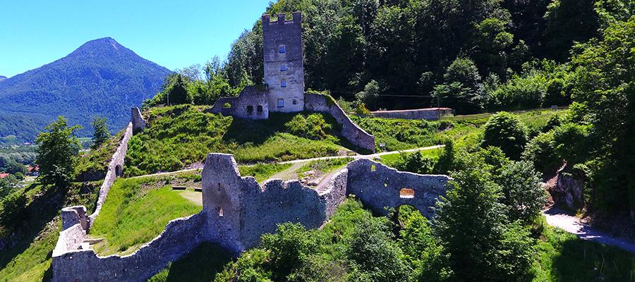 Ein Denkmal mit Aussicht: Sanierung der Burg Falkenstein abgeschlossen