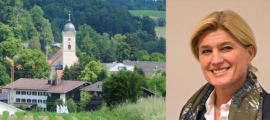 Der Dorfplatz in Feldkirchen-Westerham wird kulturelles Zentrum