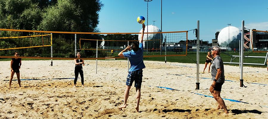 Bad Aibling punktet mit Sonne, Sand und Beachvolleyball