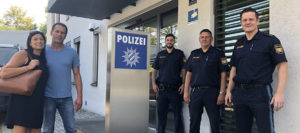 Anerkennung der Polizei für zwei couragierte Bürger