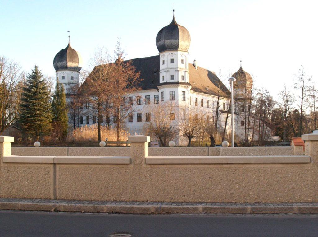 Schloss Schwindegg: ein historisches Juwel. Foto: re