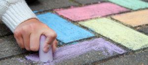 Malen und Basteln am Kindertag