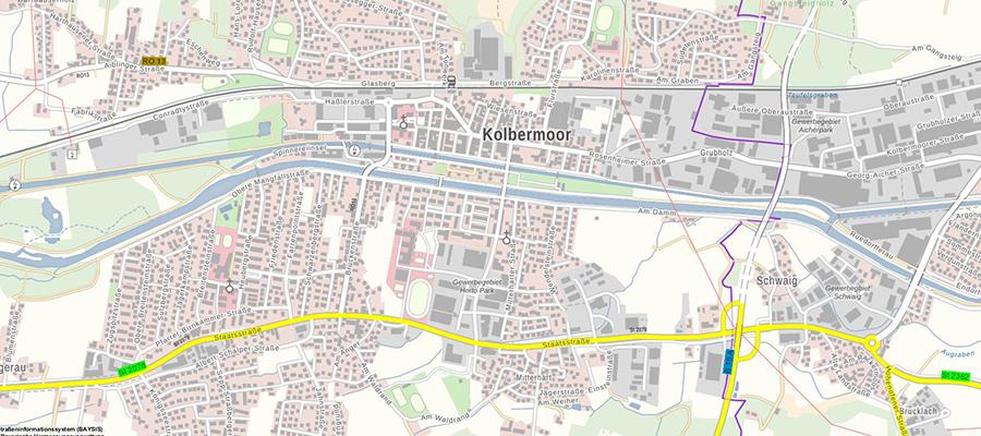 B15 – Westtangente Rosenheim: Mangfall-Mitteldamm wird tiefergelegt